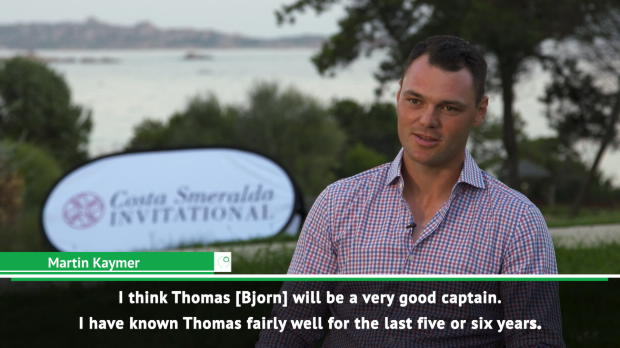 Passionate Bjorn a very good captain - Kaymer
