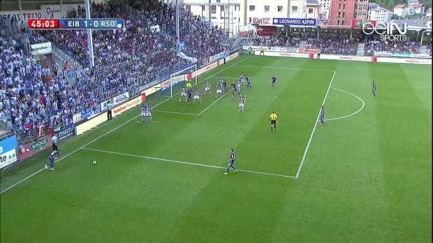 Eibar : Un superbe but pour sa première en Liga