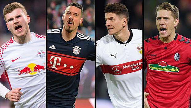 Stürmer-Quartett bewirbt sich für die WM