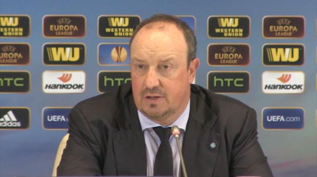 "Benitez: ""Es tut uns allen sehr leid"""