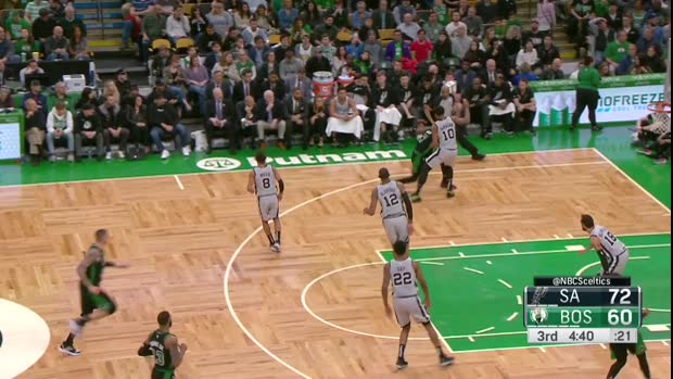 WSC: Daniel Theis 11 points vs the Spurs