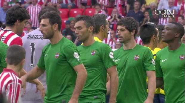 Liga : Ath.Bilbao 3-0 Levante