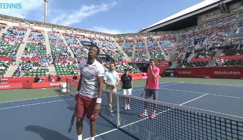 Monfils v Simon: ATP Tokyo R2