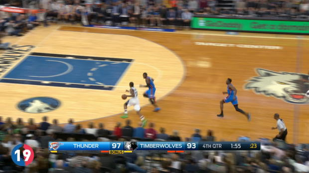 Oklahoma City Thunder's Top 20 Plays of 2016-17 Season