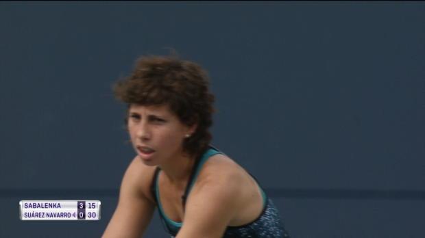 Connecticut: Sabalenka holt ersten WTA-Titel
