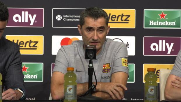 """Valverde: """"Malcoms Schüsse sind eine Waffe"""""""