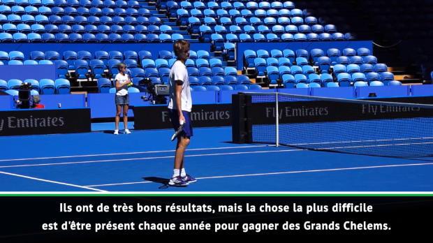Interview - Ferrero - 'Les jeunes joueurs doivent gagner des Grands Chelems'