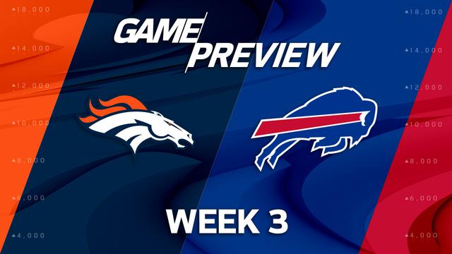 Denver Broncos vs. Buffalo Bills preview | 'NFL Playbook'