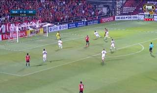 Brisbane Roar bowed out of the Asian Champions League after falling to a 3-0 loss to Muangthong United on Wednesday night.
