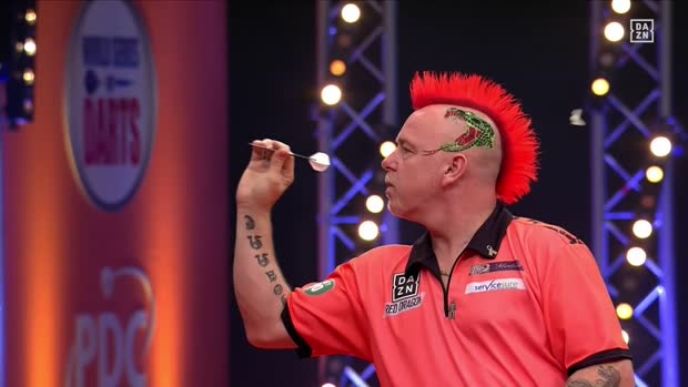 Peter Wright und die Darts-Motte | PDC Darts
