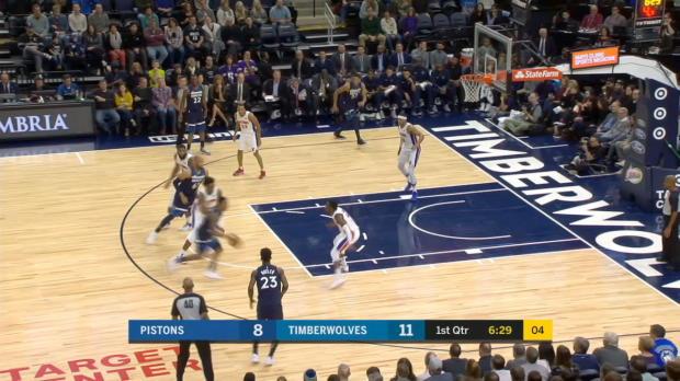 GAME RECAP: Pistons 100, Timberwolves 97