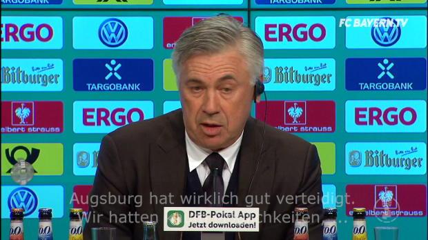 Ancelottis Pokal-Analyse nach 3:1 gegen FCA