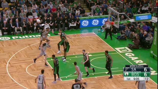 WSC: LaMarcus Aldridge 48 points vs the Celtics