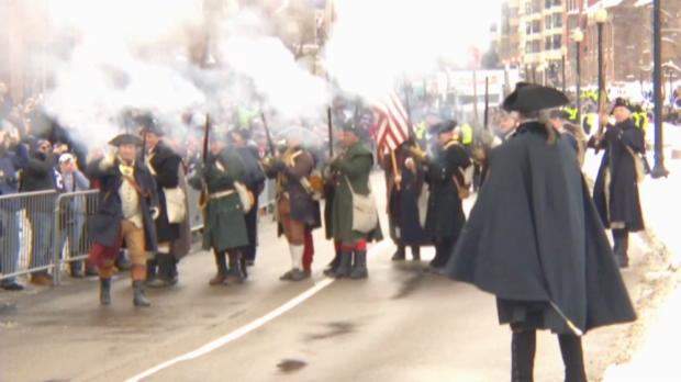 Salutschüsse! Boston feiert die Patriots