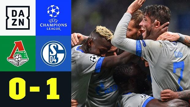 UEFA Champions League: Lok Moskau - FC Schalke 04 | DAZN Highlights