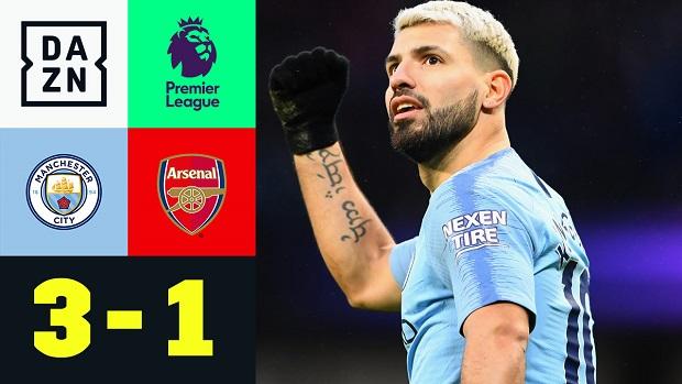 Premier League: Man City - Arsenal | DAZN Highlights