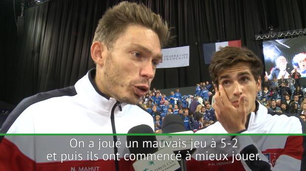 """Tennis : Coupe Davis - Mahut - """"C'est la magie de la Coupe Davis"""""""