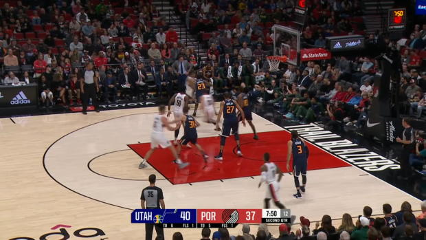 UTAH JAZZ AT PORTLAND TRAIL BLAZERS Recap