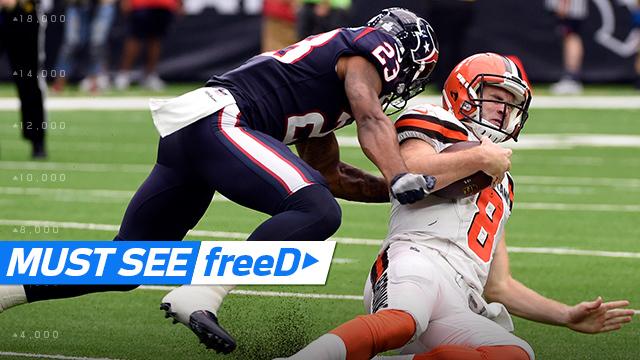 freeD: Go inside Kurtis Drummond's helmet as he takes down Kevin Hogan | Week 6