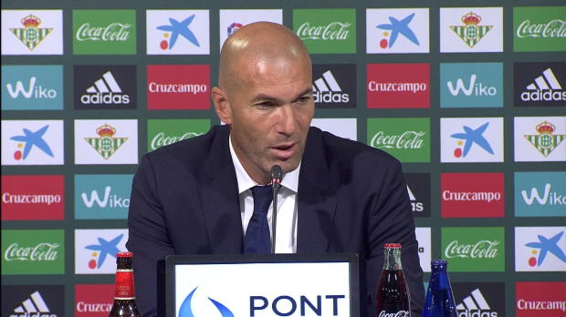 Zidane: Isco? Zufrieden mit seiner Leistung
