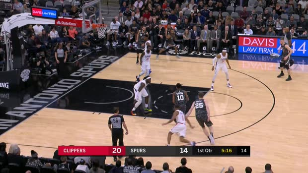 GAME RECAP: Clippers 103, Spurs 95