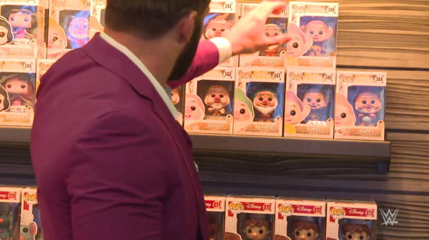 The New Day & Zack Ryder visit Funko Headquarters