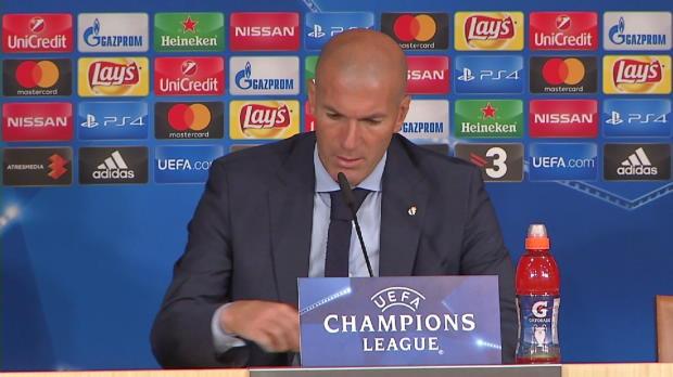 """Zidane: """"Manchmal reichen auch die Torhüter"""""""