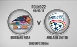 Roar v Adelaide 1st Half Highlights