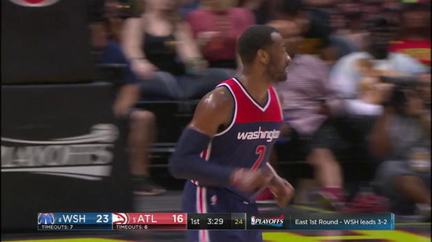 WSC: Highlights: John Wall (42 points) vs. the Hawks, 4/28/2017