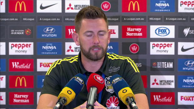 Wellington Phoenix Rd23 press conference