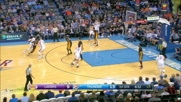 GAME RECAP: Thunder 110, Lakers 93