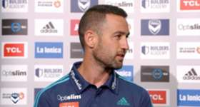 Melbourne Victory skipper Carl Valeri discusses his contract extension and this weekend's clash against Perth Glory.