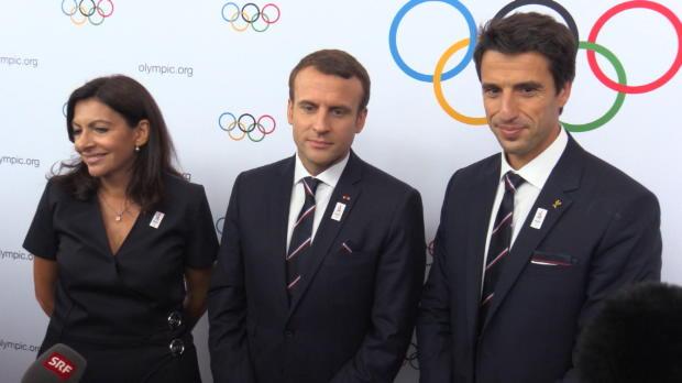 "IOC: Macron: ""Frankreich ist bereit"""