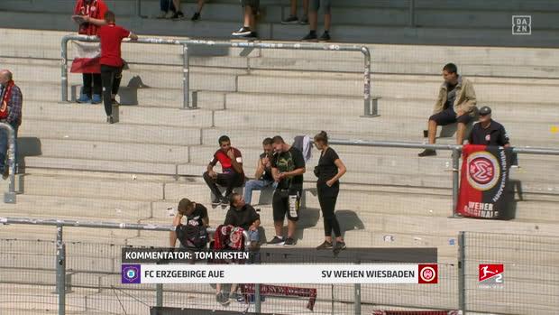 2. Bundesliga: FC Erzgebirge Aue - SV Wehen Wiesbaden   DAZN Highlights