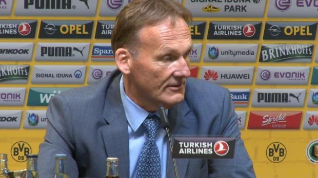 """Watzke: """"Drei Dortmunder? Muss DFB gut gehen"""""""