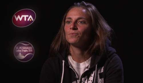 Vinci Interview: WTA St Petersburg QF