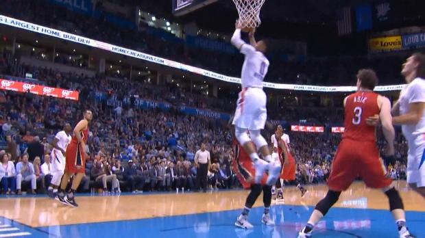 Basket : NBA - L'action qui tue - Westrook-Durant, une vraie histoire d'amour