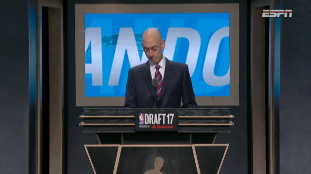 Anzejs Pasecniks Drafted by the Orlando Magic