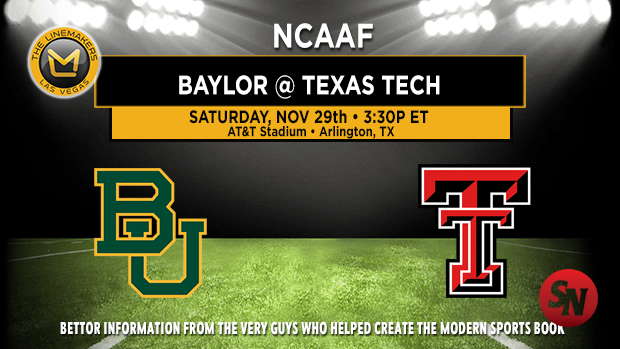 Baylor Bears @ Texas Tech Red Raiders