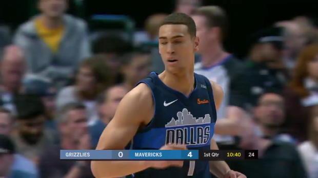 WSC: J.J. Barea (20 points) Highlights vs. Memphis Grizzlies, 03/10/2018