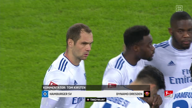 2. Bundesliga: Hamburger SV - Dynamo Dresden | DAZN Highlights