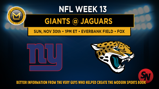 New York Giants @ Jacksonville Jaguars
