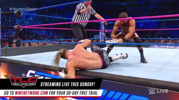 Bobby Roode vs. Dolph Ziggler: SmackDown LIVE, Oct. 17, 2017