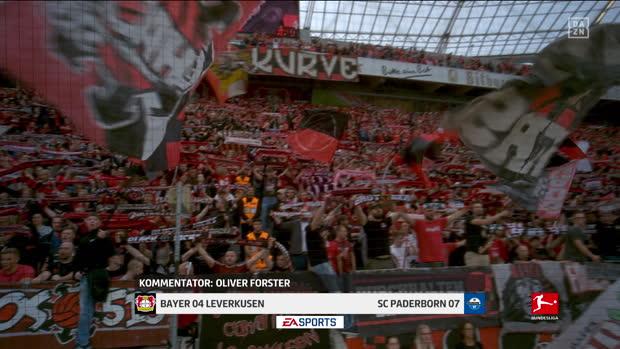 Bundesliga: Bayer 04 Leverkusen - SC Paderborn 07   DAZN Highlights