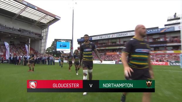 Aviva Premiership : Aviva Premiership - Match Highlights - Gloucester Rugby v Northampton Saints