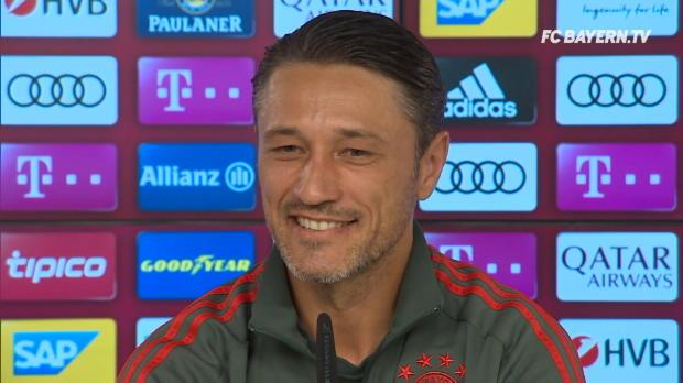 Kovac: Lädierter James fraglich für Supercup