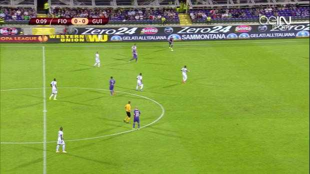 L.Europa : Fiorentina 3-0 Guingamp
