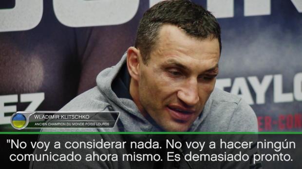 """Boxeo - Klitschko: """"Es demasiado pronto para hablar de revancha"""""""