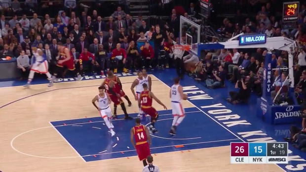 WSC: Cavaliers with 22 three pointers against the knicks