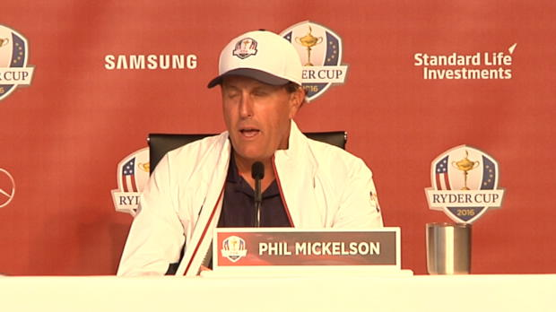 Mickelson confident, Rose happy with team ethic